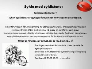 sykkel syklist 2014
